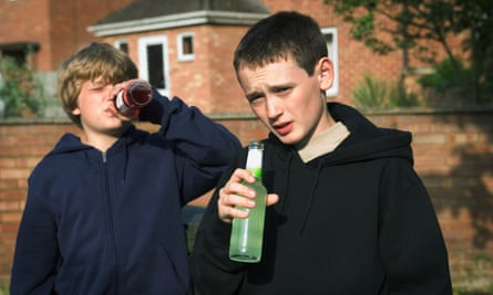 Almost 15% of boys and more than 10% of girls surveyed admitted to trying alcohol.