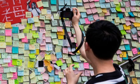 Hong Kong's Lennon walls - in pictures