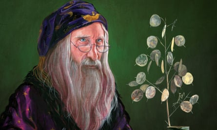 Dumbledore portrait by Jim Kay from the illustrated edition of Harry Potter and the Philosopher's Stone.
