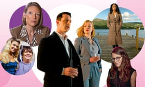 (l-r) Kathy Burke's All Woman; Mindhunter; Succession; Deep Water; Clouds of Sils Maria.