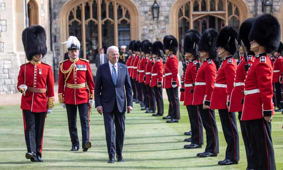 Biden has been a reassuring presence for US allies, such as on his trip to the UK in June.