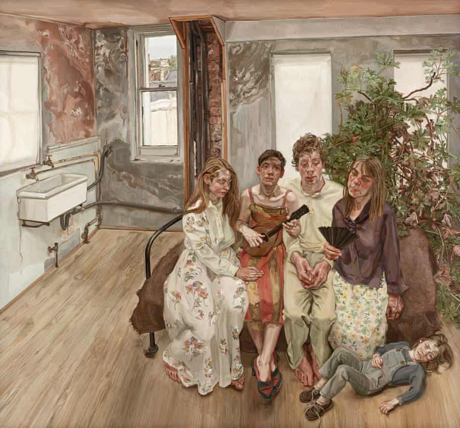 Lucian Freud's Large Interior W11 (after Watteau), 1981-83
