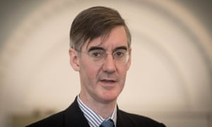 Jacob Rees-Mogg 'no longer thinks to question his infallibility as he runs through his greatest Brexit hits'.