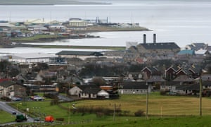 Kirkwall, Orkney's largest town