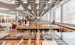 Aalto University library in Espoo