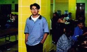 In this family photo, Majid Khan is seen in 1999 during his senior year in high school in Baltimore, Maryland.