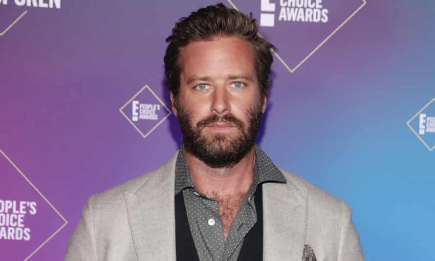 Armie Hammer in 2020.