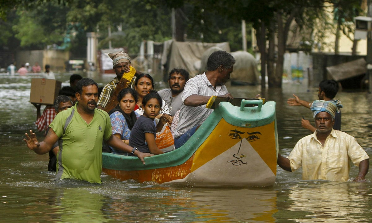 natural disasters in india