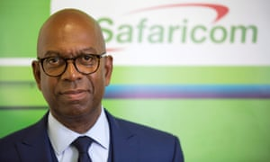 Guyana-born British businessman Bob Collymore