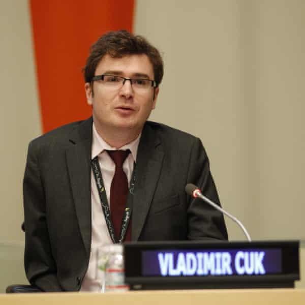Vladimir Cuk, executive director of the International Disability Alliance.