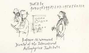 Matilda as an astrophysicist.