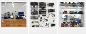 Polaroid cameras from over 50 years
