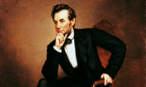 Abraham Lincoln, the only president with his own patent, in a painting by George Peter Alexander.
