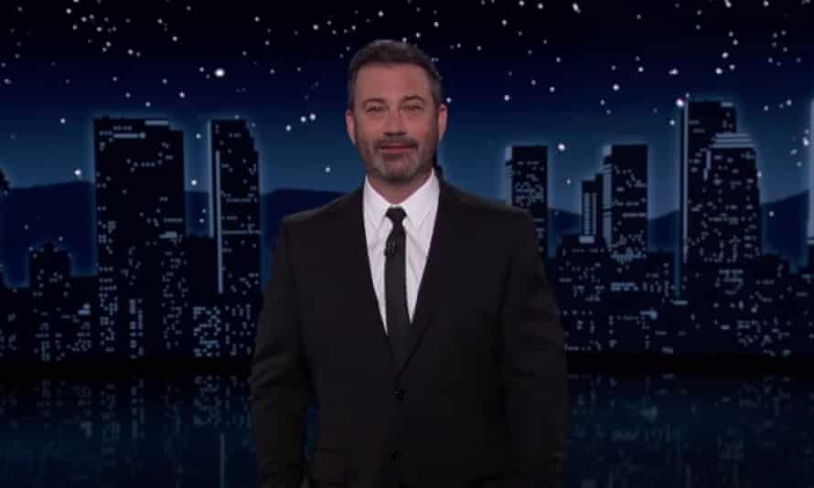 'She now knows as much about the Holocaust as every sixth grader in Washington DC' ... Jimmy Kimmel