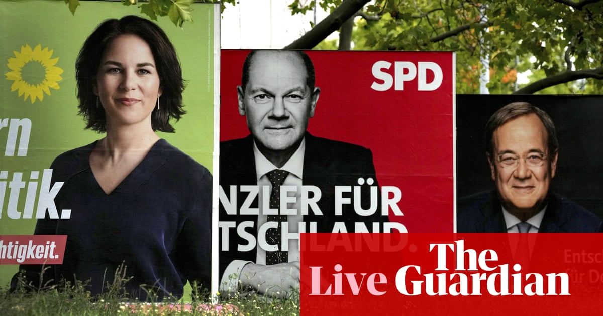 Germany election 2021: Social Democrats and Merkel's CDU tied in chancellor race, exit poll says