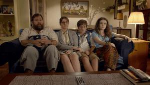 Shane Jacobson and Julia Zemiro in Australian film The BBQ