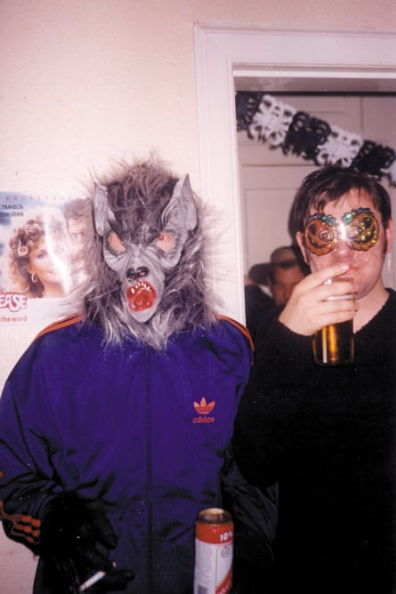 Middleton and Moffat at a Halloween party in Ediburgh, 1998.