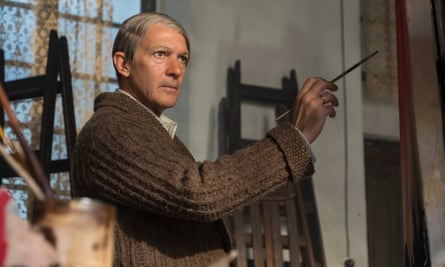Antonio Banderas as Pablo Picasso in National Geographic's Genius: Picasso