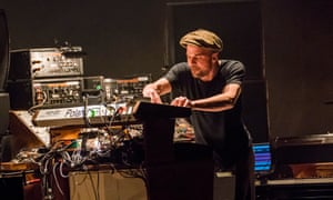 Nils Frahm performing All Melody at London's Barbican.