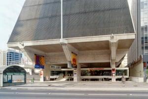 São Paulo's FIESP cultural centre, 1997.