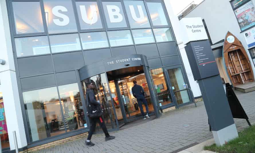 Bournemouth University student centre