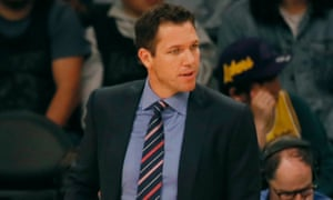 Luke Walton was recently appointed coach of the Kings