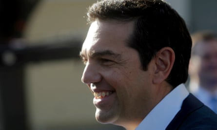 Greek prime minister Alexis Tsipras, a once-militant Marxist, is an unlikely visitor to the Oval Office.