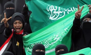 Women will be able to watch a professional football match in Saudi Arabia for the first time this month.