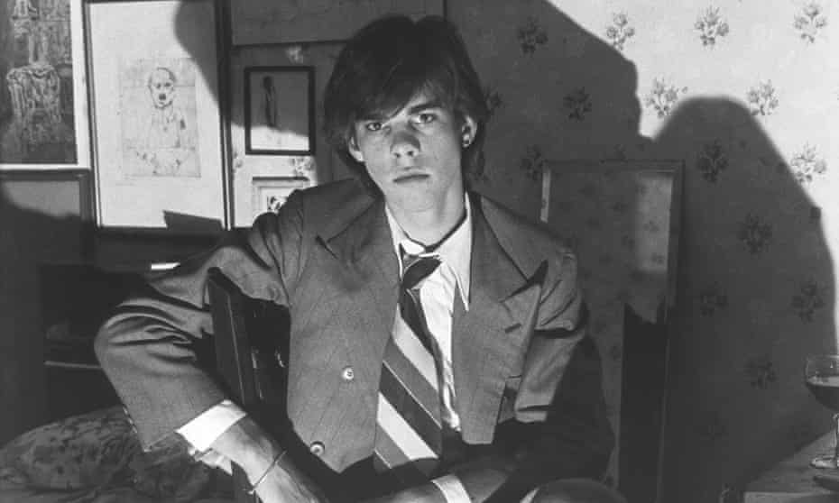 'Perfected poses': Nick Cave in 1975.