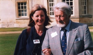 Keggie Carew and her father Tom in 2004