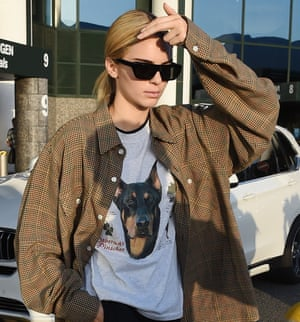 Kendall Jenner pays homage to her dog.