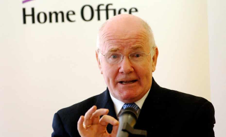 John Reid, then home secretary, in 2006.