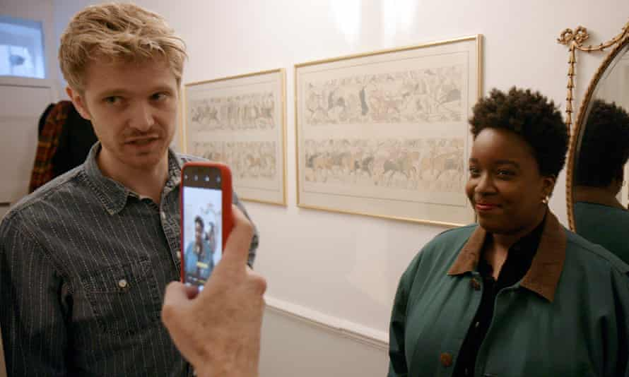 Alex Owen and Lolly Adefope in Petrichor