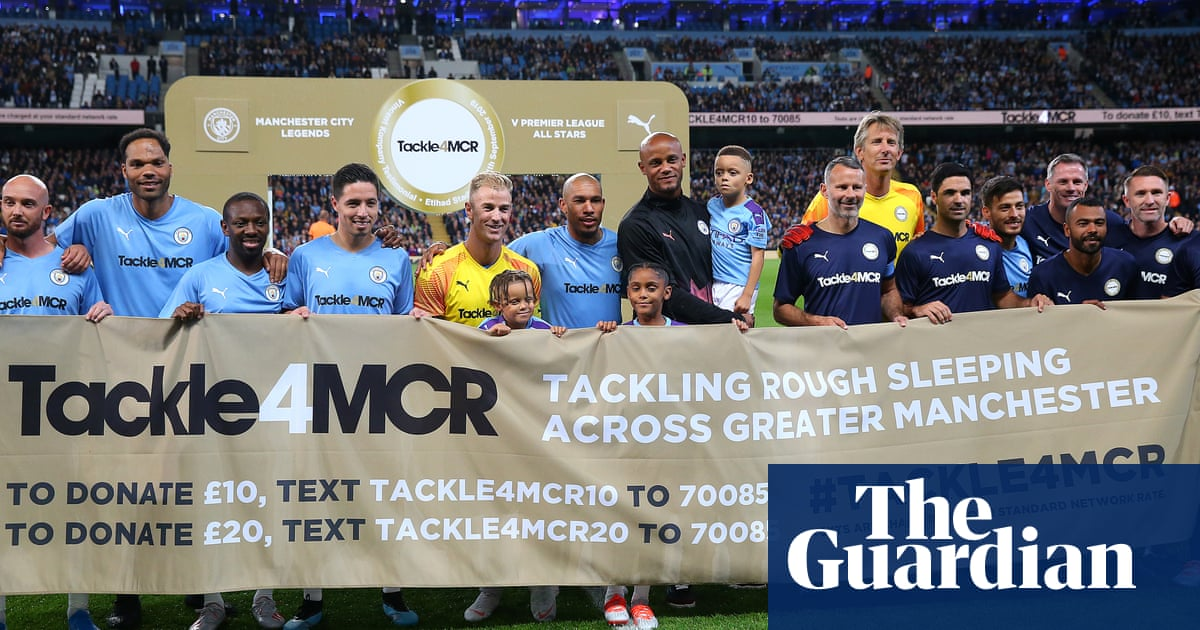 Vincent Kompany testimonial draws legends to support homelessness charity