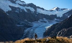 The Dart Glacier and Cascade Saddle