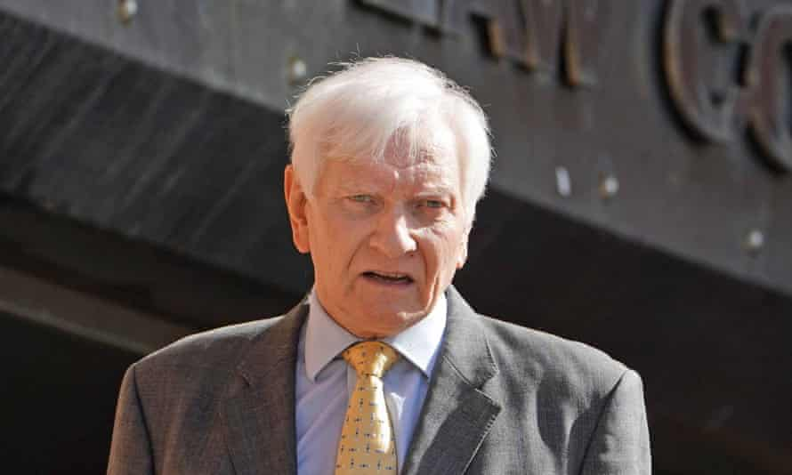 The former Tory MP Harvey Proctor.