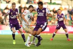 A-League, Perth v Newcastle