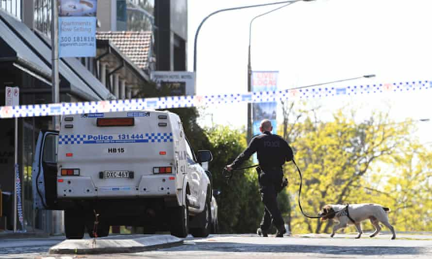 A critical incident investigation is under way after a man was shot dead outside Penrith police station