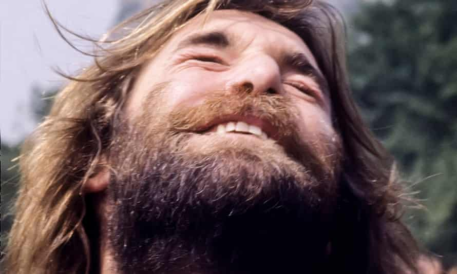 Dennis Wilson pictured in 1977, the year he released Pacific Ocean Blue.