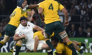 Ben Morgan said England would dismantle the Australia scrum but was made to eat his words in the 33-13 World Cup defeat at Twickenham