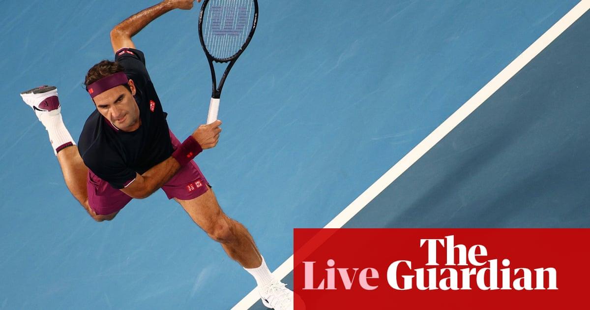 Australian Open: Federer v Krajinovic, Serena Williams races through – live!