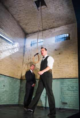 Reece Shearsmith and David Morrissey in Hangmen.