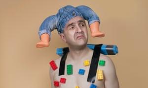 Dorkily disarming clown show … Spencer Jones as the Herbert