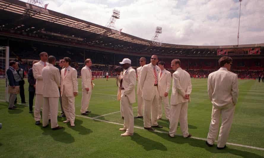 Liverpool in the white suits