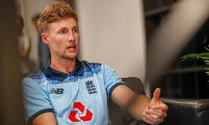 Joe Root talks to the media during the England Cricket World Cup kit launch.