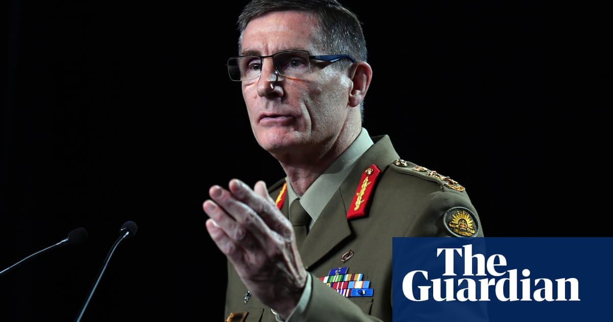 Australian defence chief says war between China and Taiwan would be 'disastrous' – The Guardian