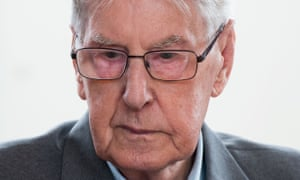 Reinhold Hanning, now 94, was an SS guard at the Auschwitz death camp.