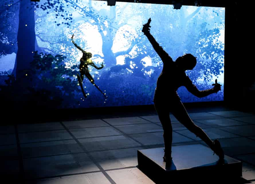 A scene from the Royal Shakespeare Company's virtual performance Dream.