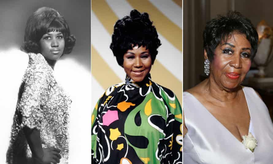 Long may she reign ... Aretha Franklin across the years.