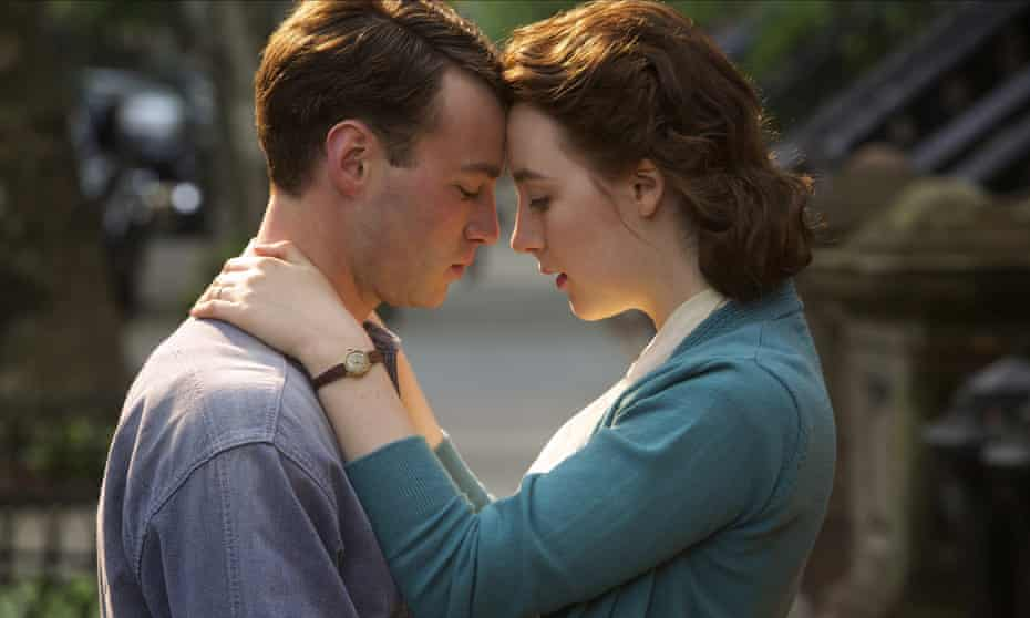 Saoirse and Emory Cohen in Brooklyn